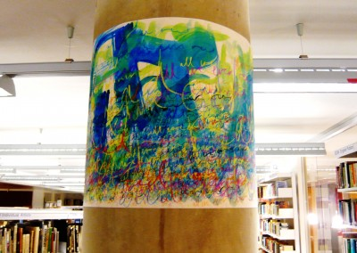 All we ever read – Installation, City Lit Library, 2011 – 2015